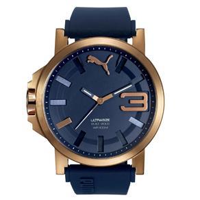 Relógio Masculino Puma 96252GPPSRU5 50mm Azul 8988480