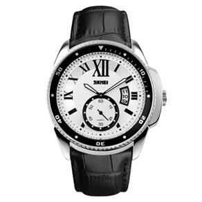 Relógio Masculino Skmei Analógico 1135 Pt - Pr 9305045