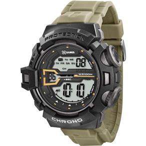 Relógio Masculino X - Games Analógico Digital Esportivo - Xmppd285 Bxex - Verde / Preto 7882552