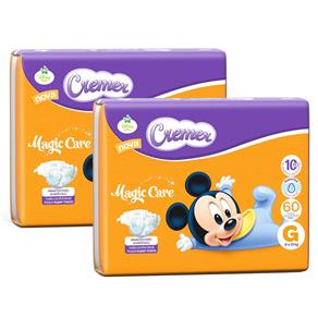 Fralda Cremer Hiper Disney Baby Tamanho G - 120 Unidades 1000065450