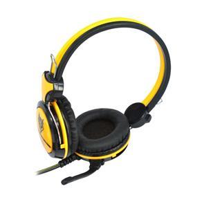 Fone Headset amarelo