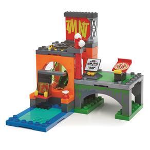 Megablock Mattel Tartarugas Ninjas Jr Conjunto Esgoto 10079712