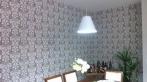 Instalação de tecidos em paredes