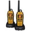 Rádio Comunicador Intelbras Twin Water Proof 9,6Km - Amarelo / Preto