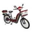 Bicicleta Elétrica em Aço - Modelo JS 150 350W - Vermelha