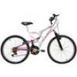 Bicicleta Full FA240 18 V Aro 24 Branca / Rosa - Mormaii 7899196