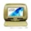 Encosto De Cabeça Com Monitor 7 Bege ( Encosto ) 8145356