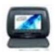 Encosto De Cabeça Com Monitor 7 Grafite ( Encosto ) 8145355