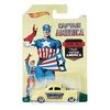 Carrinho Hot Wheels Colecionável - Série Marvel Capitão América - Capitão América Classic - 40 Ford Coupe - Mattel 8057460