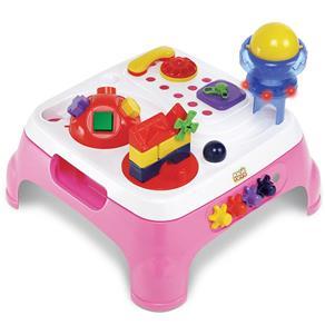 Magic Toys - Mesa Maxi Com Som Rosa 1070