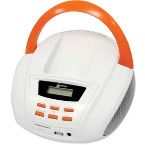 Rádio Lenoxx BD - 109 FM Estéreo Entrada USB e Cartão SD Branco