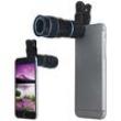 Telescópio com Lentes de Zoom 8x LIEQI LQ - 007 para iPhone 6 Plus, iPad, Air Samsung, Galaxy S6 Edge, Notebook PC