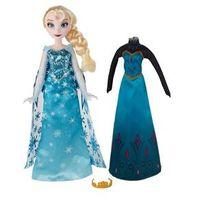 Boneca Disney Frozen - Vestidos Reais - Elsa - Hasbro
