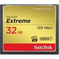 SanDisk Extreme Compact Flash de 32Gb 120MBs