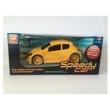 Speedy Car - Amarelo - C / Fricção - Silmar Brinquedos