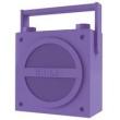 Alto Falante Retrô Portátil iHome com Bluetooth e Rádio ( emborrachado ) Roxo