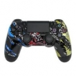 Controle Sem Fio - PS4 - Abstract Splatter - Alta Performance - GG Controles