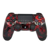 Controle Sem Fio - PS4 - Funny Skulls Red Edition - GG Controles