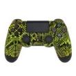 Controle Sem Fio - PS4 - Yellow Snake - Alta Performance - GG Controles