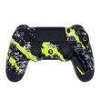 Controle Sem Fio - PS4 - Yellow Splatter - Alta Performance - GG Controles