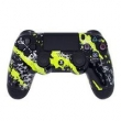 Controle Sem Fio - PS4 - Yellow Splatter - GG Controles