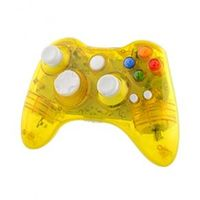 Controle Xbox 360 Sem fio Led Amarelo - Pro50