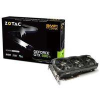 Geforce Zotac Gtx Entusiasta Nvidia Gtx 980Ti Amp ! Extreme Edition 6Gb Ddr5 384Bit 7220Mhz 1253Mhz 2816 Cuda Cores Dvi Hdmi Dp