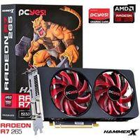 Placa De Video Amd Radeon R7 265 Hammer X Dual - Fan 2Gb Gddr5 256 Bits - Ph26525602D5Oc