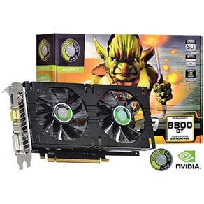 Placa de Vídeo Vga Geforce Gt 9800 Dual Fan Low Power 1Gb Gddr3 256Bits Pci - E 2.0 R - Vga150913G - 2 - Point Of View 8232915