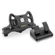 Volante 3 Em 1 Fórmula 1 Com Marcha E Pedal Usb - Js070 P / Ps3 Playstation 2 Pc Multilaser