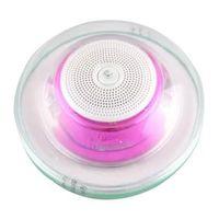 Alto - falantes - Caixinhas de Som - luz roxa - Hui HS70 sem fio Bluetooth falante portátil mini Alto - falante portátil
