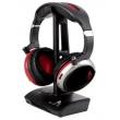 Fone de ouvido - Ya - dia ARTISTE AGH200 24G cabeça headset sem fio montada vermelho e preto