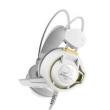 Fone Headsets - ders Sades fone de ouvido estilo cabeça choque branco Edição
