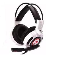 Fone Headsets - ders Sades K3 estilo vermelho - cabeça choque headset Edição