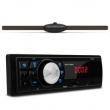 MP3 Player Multilaser One P3213 1 Din + Antena Interna Taramps TFM 1080i Para - brisa