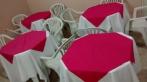 Toalhas de mesa para locação festas