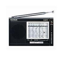 Rádio - Ponteiro Desheng Rádio Tecsun R911 Com Banda Completa Portátil Preto