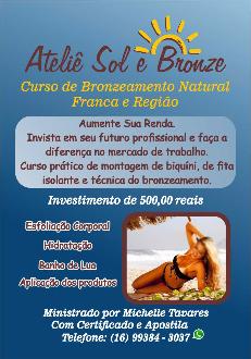 curso bronzeamento natural em franca sp vender comprar curso