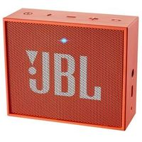 Caixa de Som Bluetooth Portátil Laranja GO JBL