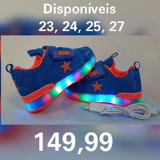 71d6d4d4398 Tênis led recarregável infantil joujou em Limeira SP Vender Comprar ...