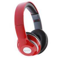 Fone de ouvido - Shell US EP140 estilo lindo vermelho - cabeça computador fone de ouvido dobrável