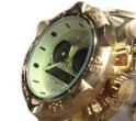 Relógio Invicta Luxo Dourado Display Digital Analógico
