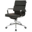 Cadeira Charles Eames Office Esteirinha Soft Baixa - Cadeira Charles Eames Office Soft Baixa