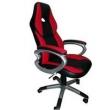 Cadeira Racing / Gamer Giratória para Escritório Preta e Vermelha - LMS - BY - 8 - 117 vermelho