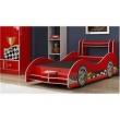 Cama Carro Mercurio - Gelius Moveis - Vermelho vermelho carne