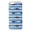 Capa para Iphone 5 de Acrílico Shark Azul com película protetora