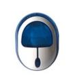 Luz Noturna de Led Com Sensor 52200 Azul