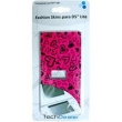 Adesivo Fashion Skins Tech Dealer 8150 Pink para Personalizar Nintendo DS