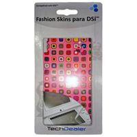 Adesivo Fashion Skins Tech Dealer 8184 Rosa para Personalizar Nintendo DS
