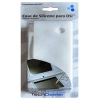 Capa de Silicone Tech Dealer 8133 - Branco p / Nintendo DSi